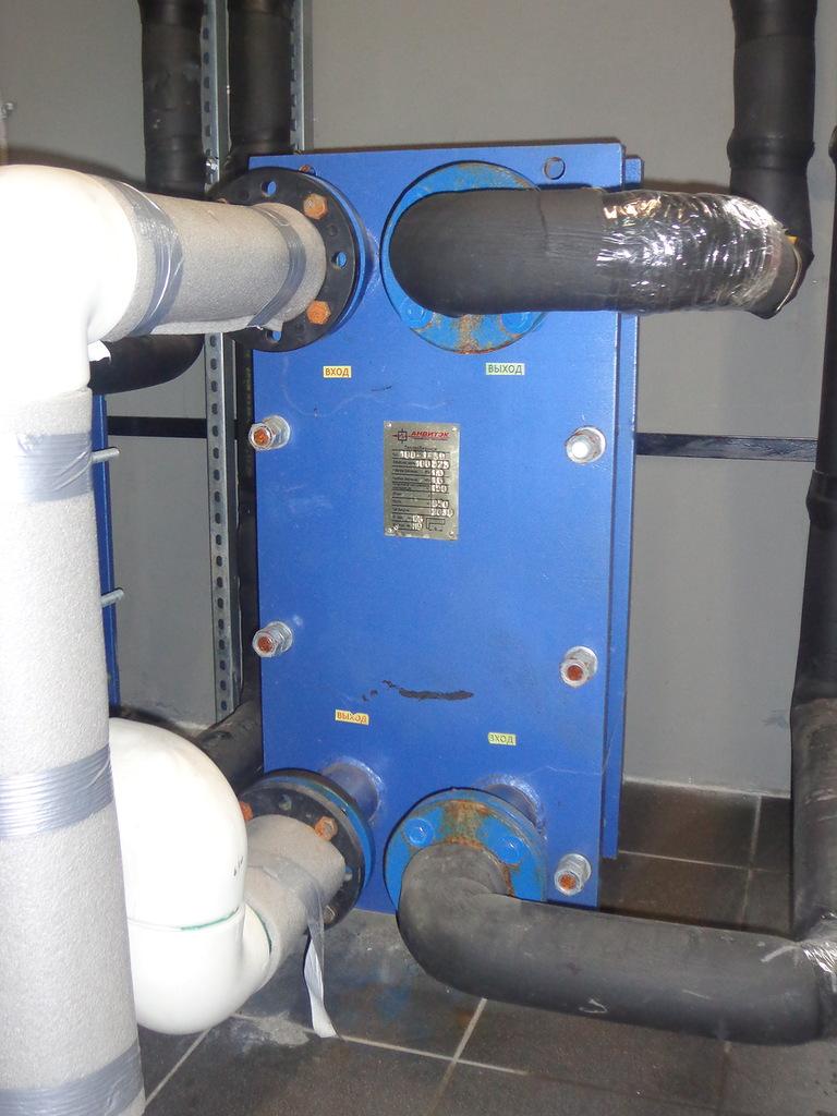 резервуар теплообменника