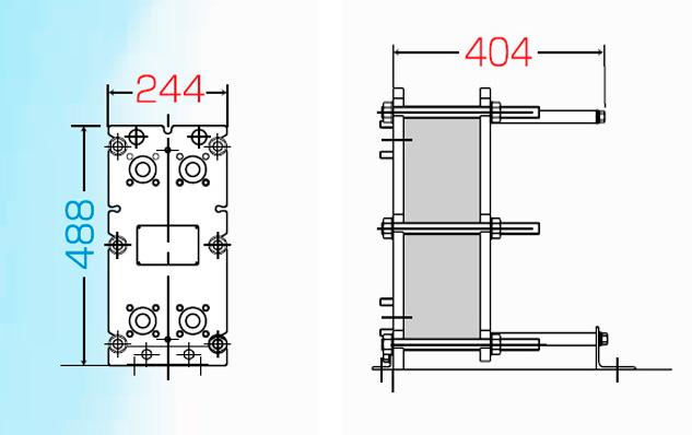 Теплообменник разборный м3 теплообменник воздух воздух в приточную камеру